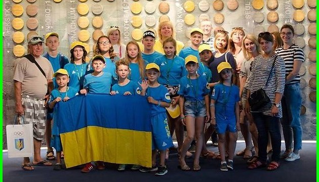 Юные украинцы завоевали 10 медалей на Онкоолимпиаде в Польше