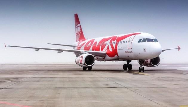 Львівський аеропорт повідомляє про затримку двох рейсів Ernest Airlines