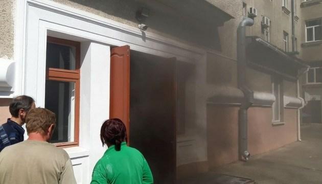 У мерії Кропивницького сталася пожежа, людей евакуювали