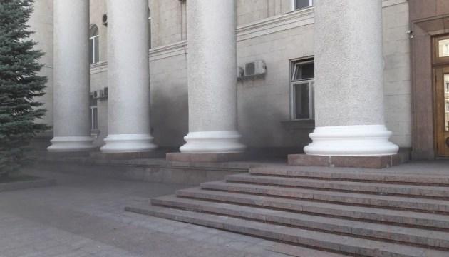 ГСЧС назвала причину задымления в мэрии Кропивницкого