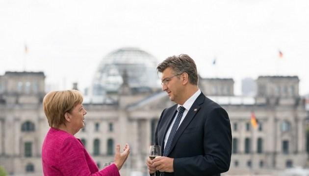 Меркель вітає вступ Хорватії до Шенгену