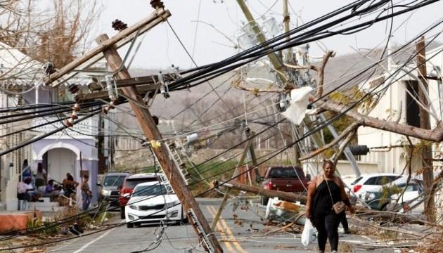 Власти Пуэрто-Рико подтвердили гибель почти 3 тысяч человек от урагана
