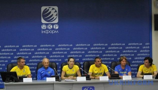 Отъезд сборной команды ветеранов легкой атлетики Украины на Чемпионат Мира