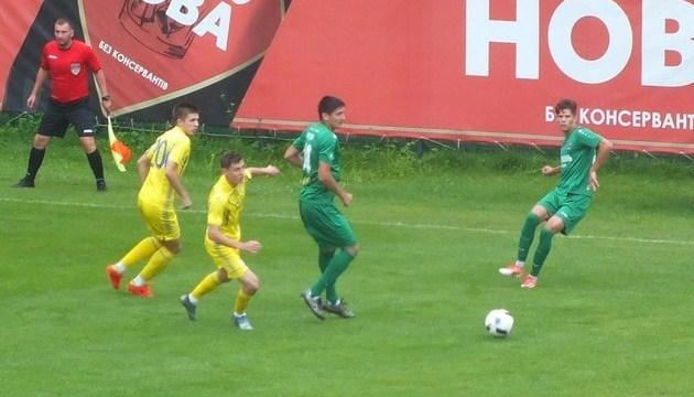 Молодежная сборная Украины по футболу обыграла в спарринге