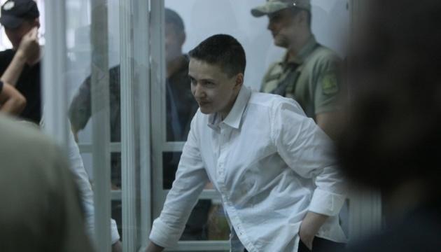 Gericht behandelt Haftverlängerung für Sawtschenko