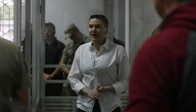 Суд рассматривает ходатайство о продлении ареста Савченко