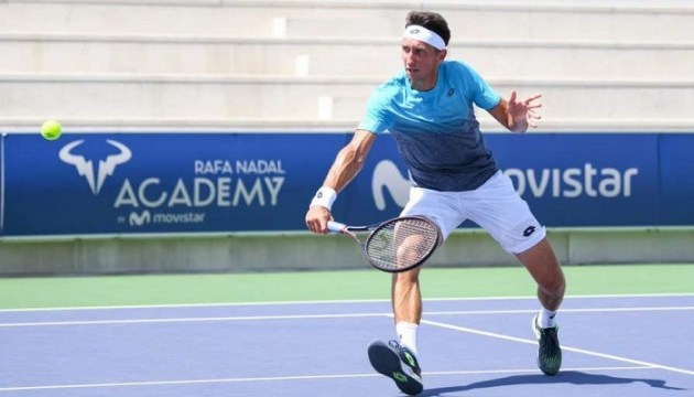 Стаховський переміг у першій грі турніру Rafa Nadal Open