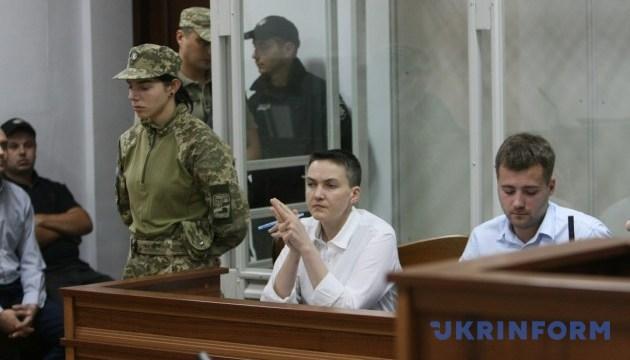 Суд продовжує розгляд клопотання про подальший арешт Савченко