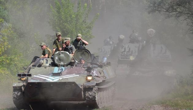Donbass: Feind greift ukrainische Armeestellungen 25 Mal an