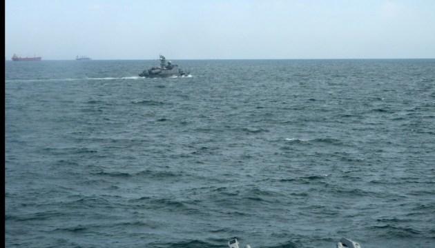 """Militärübungen """"Storm 2018"""": Gefechtsschießen der ukrainischen Marine - Fotos"""