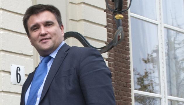 Климкин едет в Брюссель на встречу со Столтенбергом