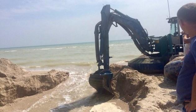 На Запорожье восстановили сообщение Молочного лимана с морем