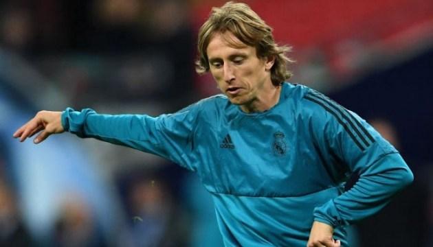 Лука Модрич - лучший футболист прошлого сезона по версии УЕФА