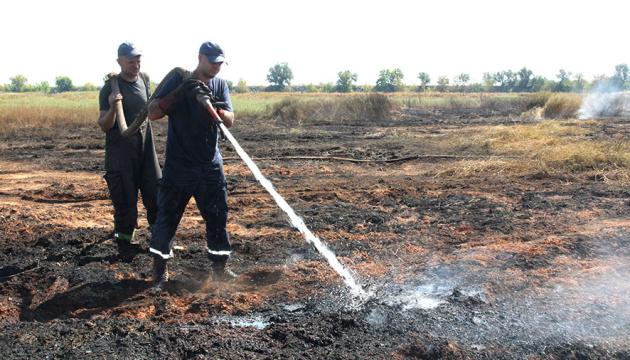 На Черниговщине осталось погасить 6 гектаров торфяников