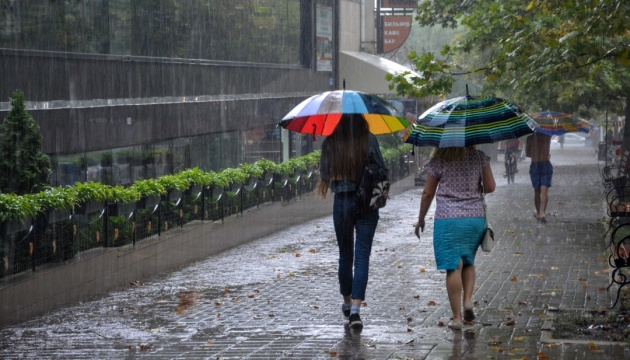 Thunderstorm warnings in Kyiv and its region
