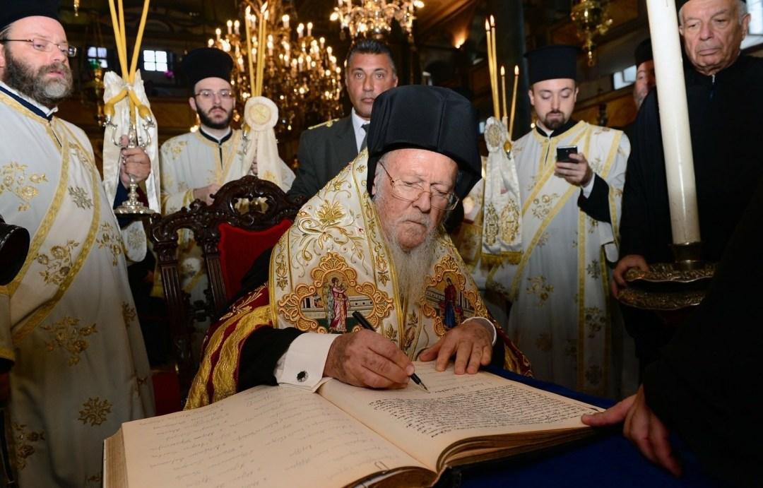 Вселенський патріарх Варфоломій / Фото: GOA