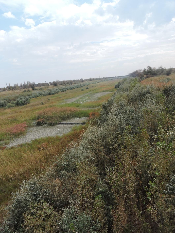 Так теперь выглядит Северокрымский канал. Фото: Павел Гутионтов / «Новая газета»
