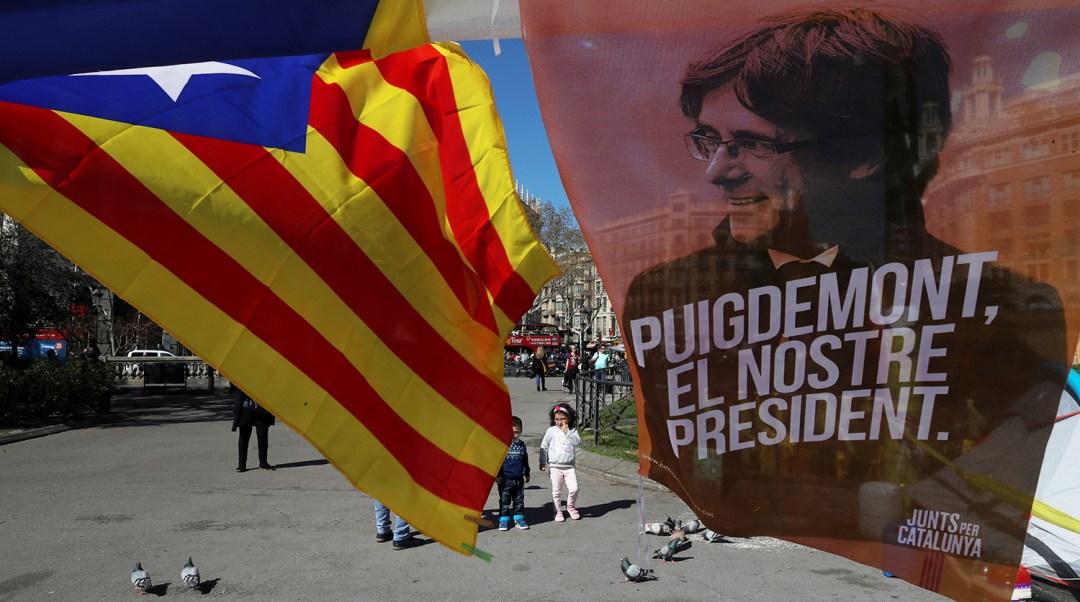 Карлес Пучдемон, колишній лідер каталонців, ідейний натхненник і організатор референдуму про незалежність Каталонії