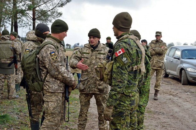 Фото: Canadian Armed Forces in Ukraine, Facebook