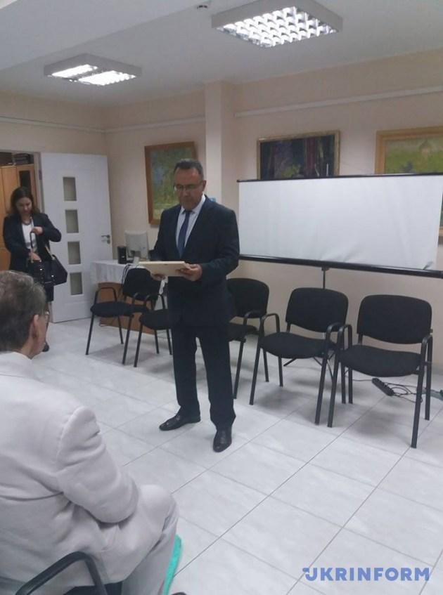 Посол України у Молдові Іван Гнатишин