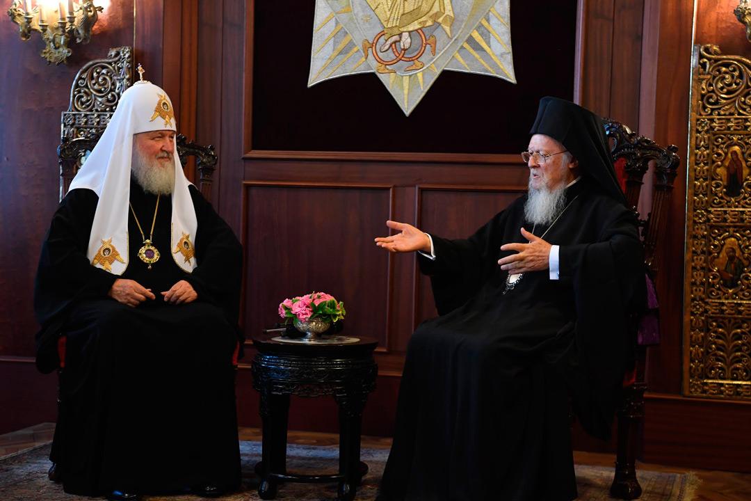 Вселенський Патріарх Варфоломій Кирил Фото с сайта usapostclick.com