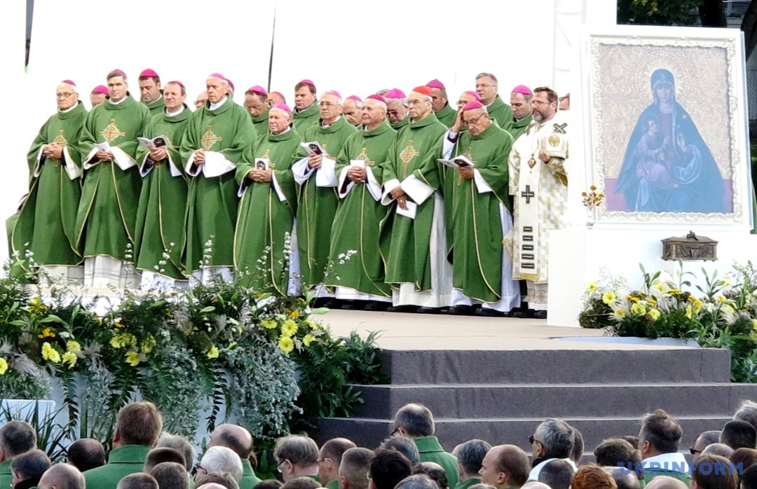 Блаженіший Святослав на Службі в Каунас