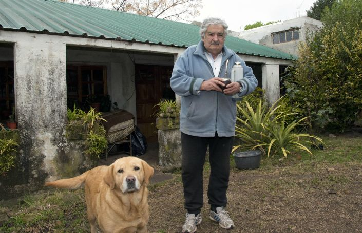 83-річний колишній глава Уругваю Хосе Мухіка на прізвисько Ель Пепе