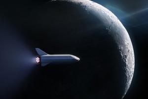 SpaceX будує два однакові кораблі для польотів на Марс