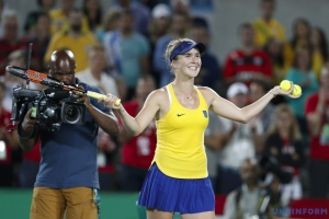 Svitolina reaches semifinals of tennis tournament in UAE