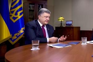 Порошенко - Зеленскому: Желаю успешного президентства