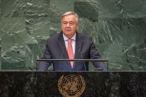 Генсек ООН закликає до глобального припинення вогню у світі за 100 днів