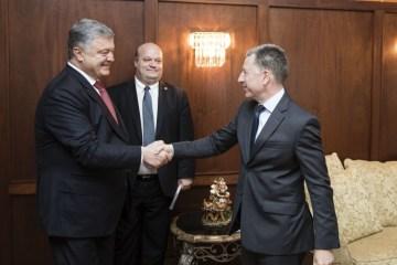 President Poroshenko meets with U.S. Special Representative for Ukraine Kurt Volker