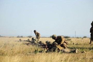 铂金鹰:乌克兰海军陆战队在罗马尼亚演习