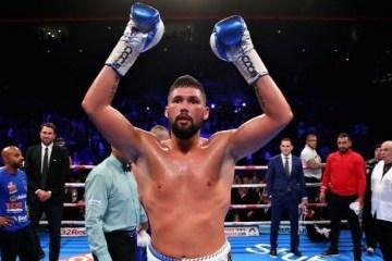 Britischer Boxer Tony Bellew: Wir haben Kampfbedingungen mit Usyk abgestimmt