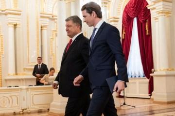Kurz: Was in der Ukraine geschieht, ist russische Aggression