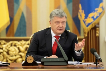 Poroshenko calls on Ukrainians to support national team at Invictus Games