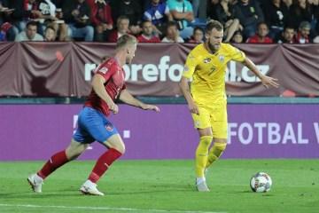 UEFA Nations League: Ukraine besiegt Tschechien 2:1