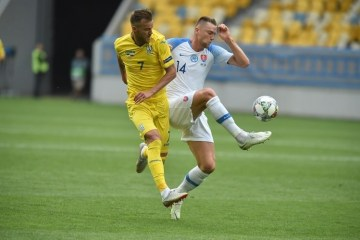 Nations League: Ukraine bezwingt Slowakei 1:0