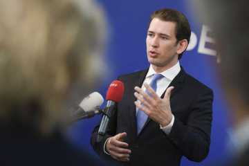 Kurz expects to discuss further sanctions against Russia due to escalation in Kerch Strait