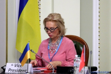 Human rights commissioner Denisova to remind of violation of Ukrainian political prisoners' rights