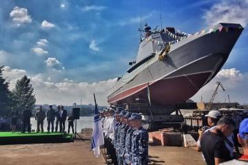 """图尔奇诺夫称,""""半人马""""突击艇不输北约同类军舰"""