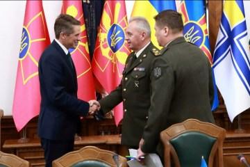 ムジェンコ参謀総長:ウクライナは英国の軍支援を特に評価