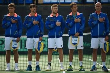 Copa Davis: Ucrania sube dos posiciones en el ranking de las naciones