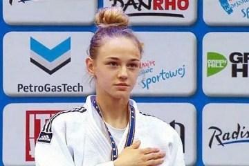 柔道:乌克兰姑娘贝罗杰德亮相2018世锦赛宣传片