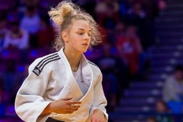 Judo: Bilodid se convierte en campeona del mundo más joven (Vídeo)