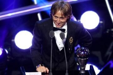 Shevchenko, Pyatov vote for Modric as best FIFA player