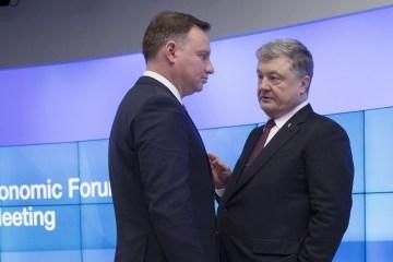 Porochenko demande à Duda de soutenir le processus de réforme en Ukraine