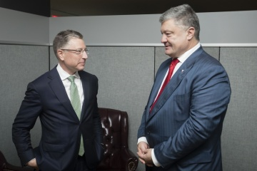Poroshenko, Volker discuss prospects for deploying UN force to Donbas