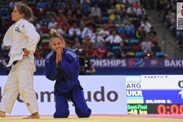 柔道:乌克兰姑娘毕洛基德成为最年轻的世界冠军
