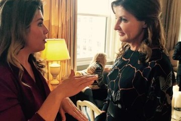 Maryna Poroshenko meets with Trudeau's wife in New York